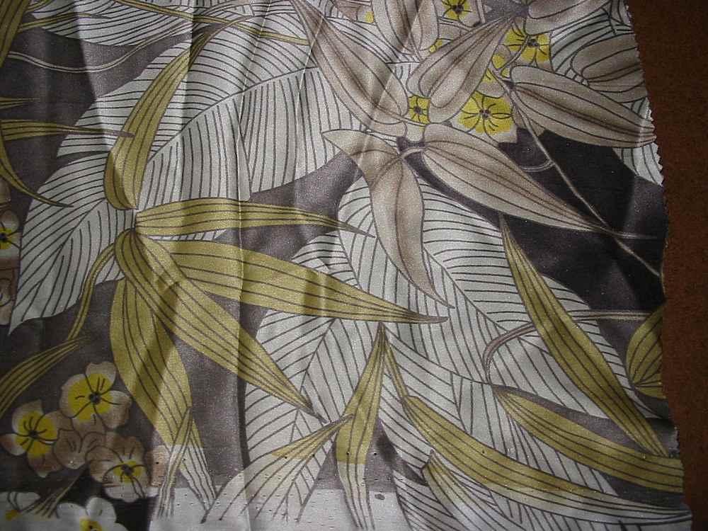 FIE-206-449 / GREY         / Silk Charmeuse Print,