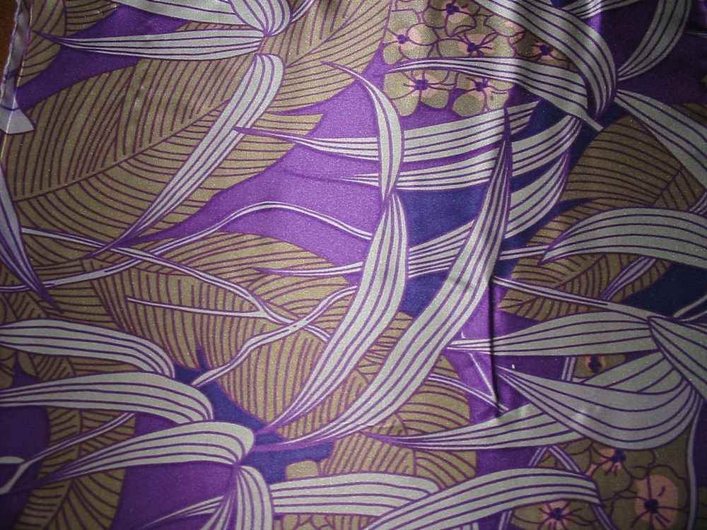 FIE-206-449 / PURPLE                 / Silk Charmeuse Print,