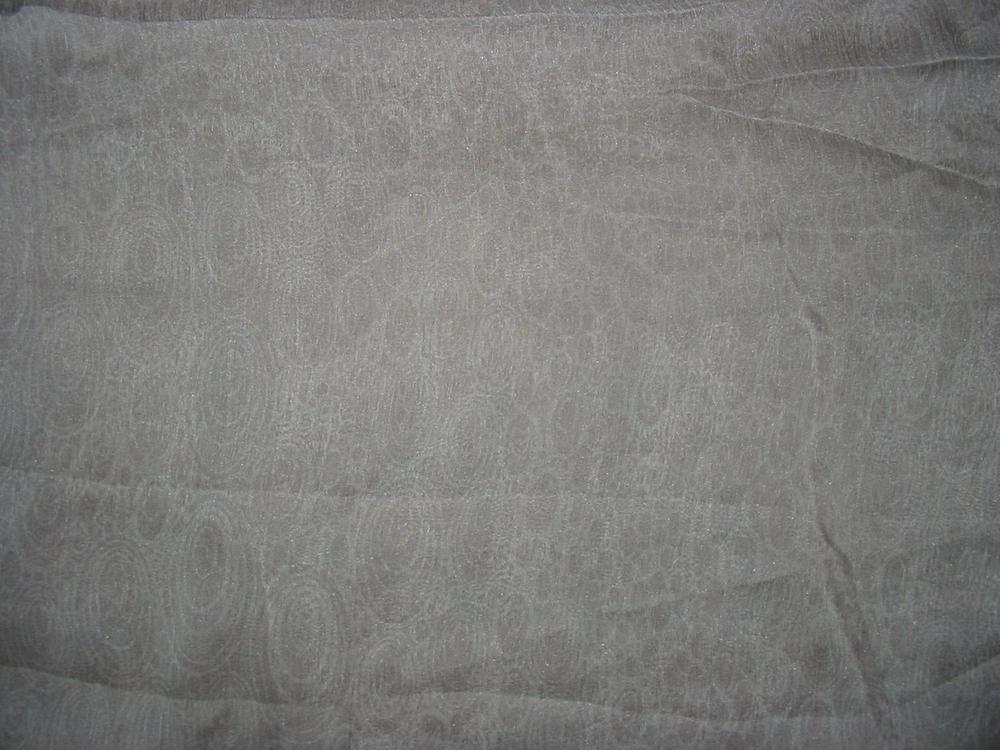 FIE-206-446-1 / SILVER         / SILK CRINKLE CHIFFON PRINT 6 M/M