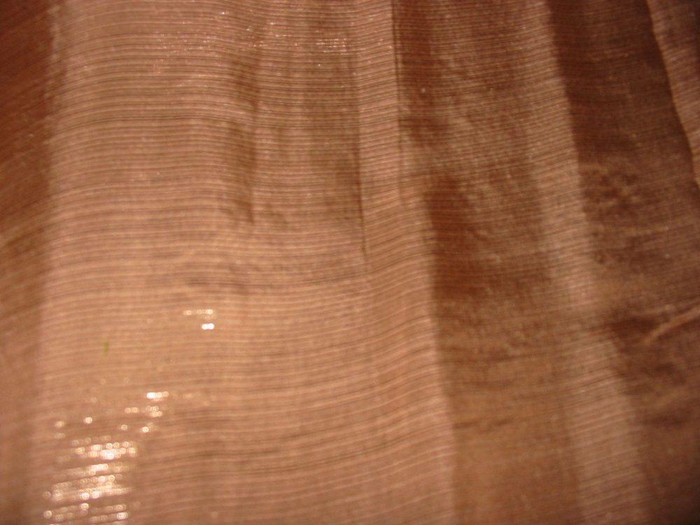683 / BROWN         / SILK LUREX CHIFFON 6 M/M 50%Silk 50%Lurex