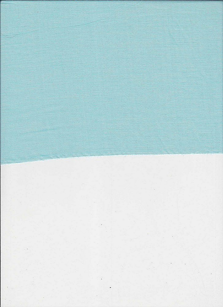 SILK/COTTON / #344 AQUA         / SILK/COTTON VOILE 9 M/M, 30% SILK/ 70% COTTON