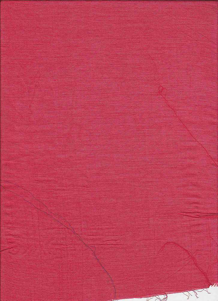 SILK/COTTON / #161 RED                 / SILK/COTTON VOILE 9 M/M, 30% SILK/ 70% COTTON