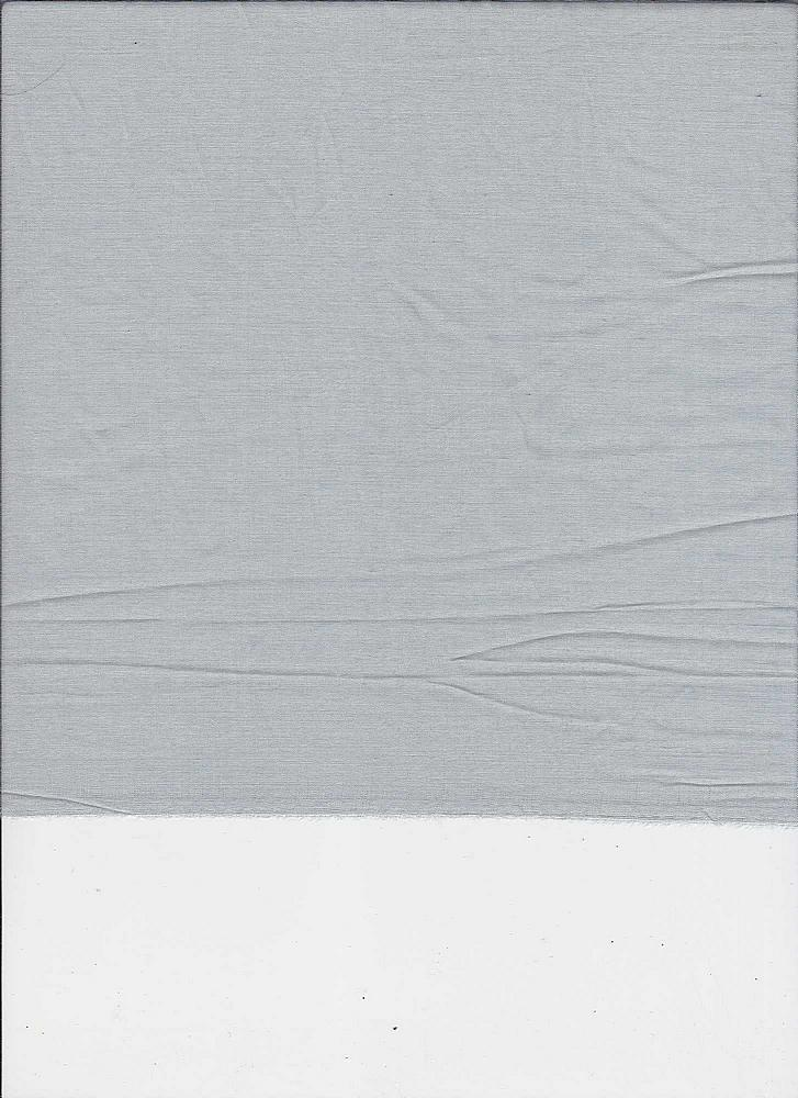 SILK/COTTON / GREY         / SILK/COTTON VOILE 9 M/M, 30% SILK/ 70% COTTON