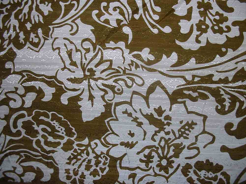 #588-1 / #2         / SILK/COTTON JACQUARD PRINT