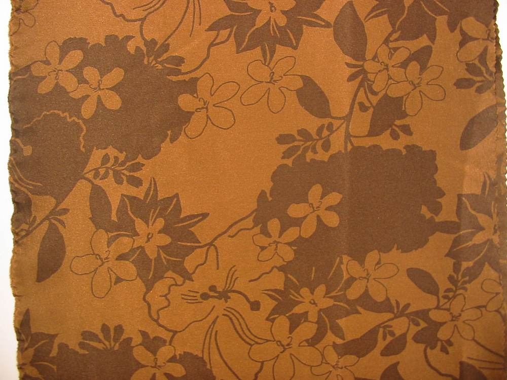 "FIE-206-463 / BROWN                 / 44/45""STRETCH SILK CDC 95%SILK 5%"