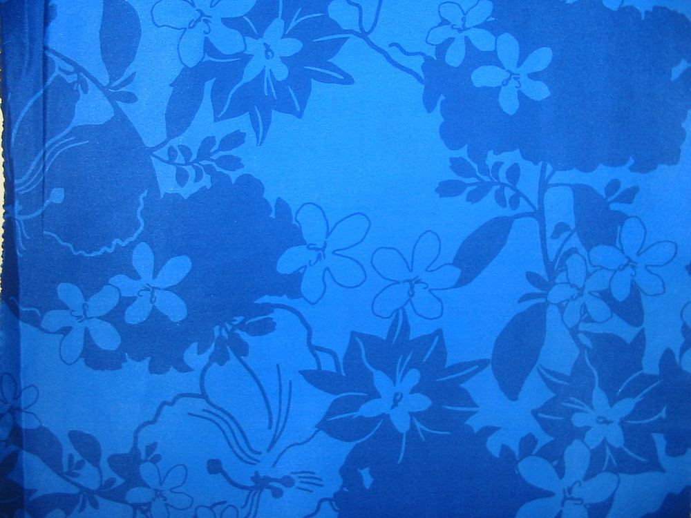 FIE-206-463-1 / BLUE                 / SHINEY SILK CHIFFON PRINT 8MM