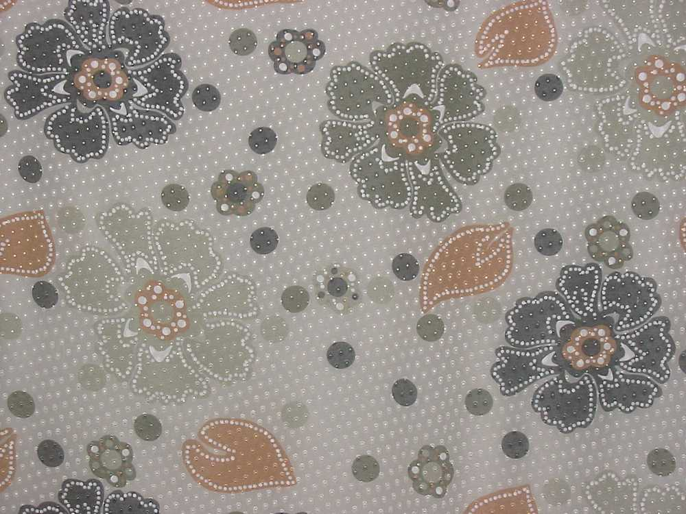 FIE-2006-202-1 / #4         / SILK VISCOSE CUT OUT PRINT