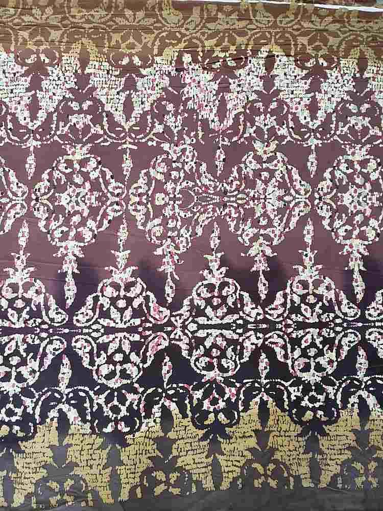 FIE-206-730-5 / ESPRESSO                 / 100% Silk Jersey Knit 140g