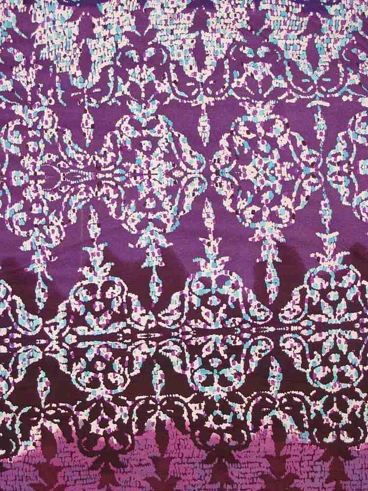 FIE-206-730-5 / PLUM         / 100% Silk Jersey Knit 140g