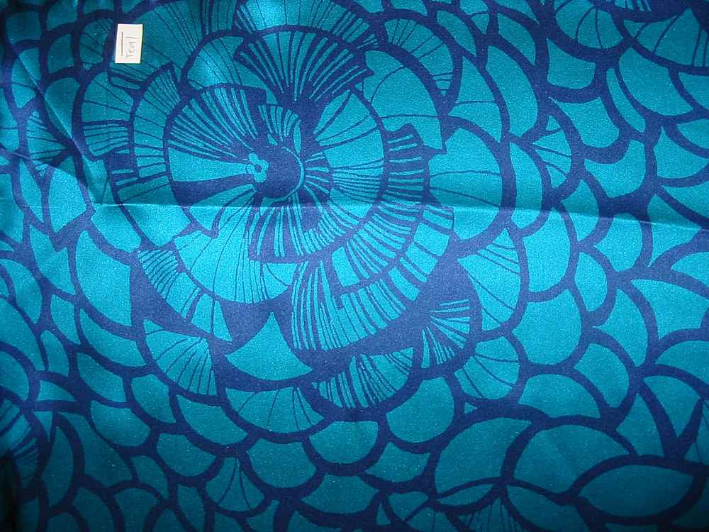 FIE-206-458-5 / TEAL         / 4 SILK JERSEY KNIT 145 GRAMS