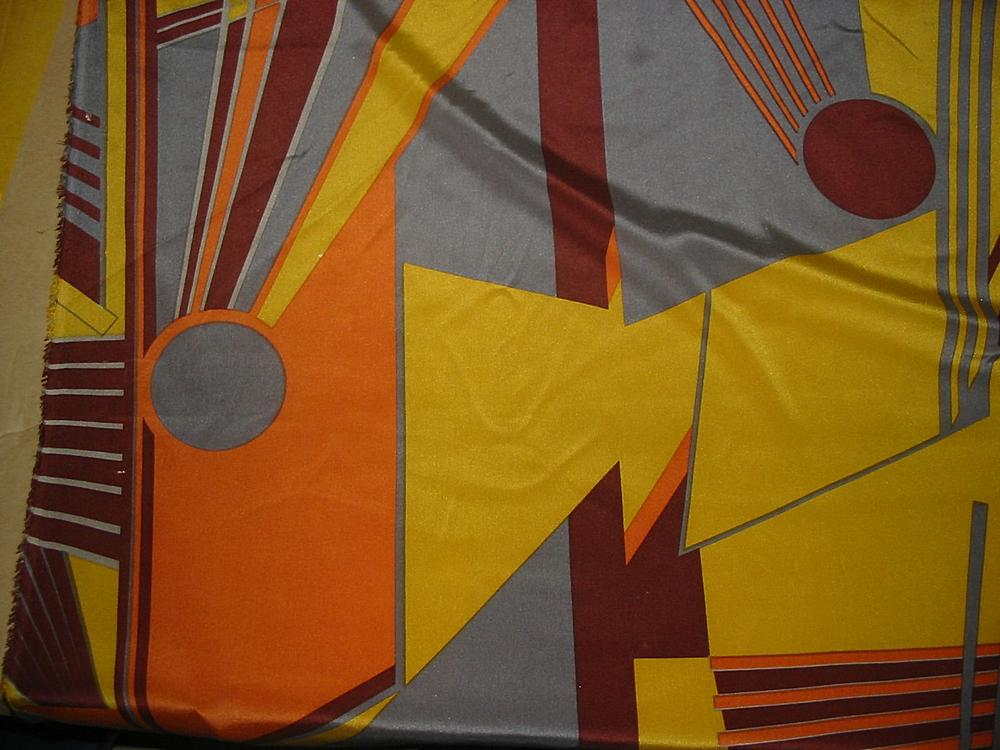 FIE-206-454-5 / 3 ORANGE / SILK JERSEY KNIT 100% SILK 145 GRAMS